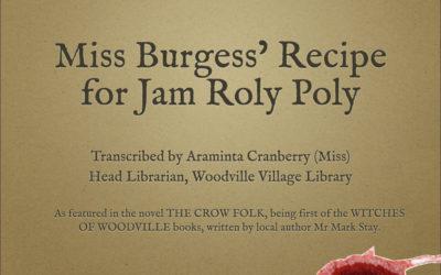 A Recipe for Jam Roly Poly